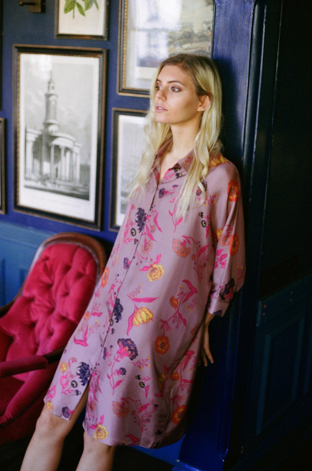 Bella Shirt Dress - Spitalfields Floral