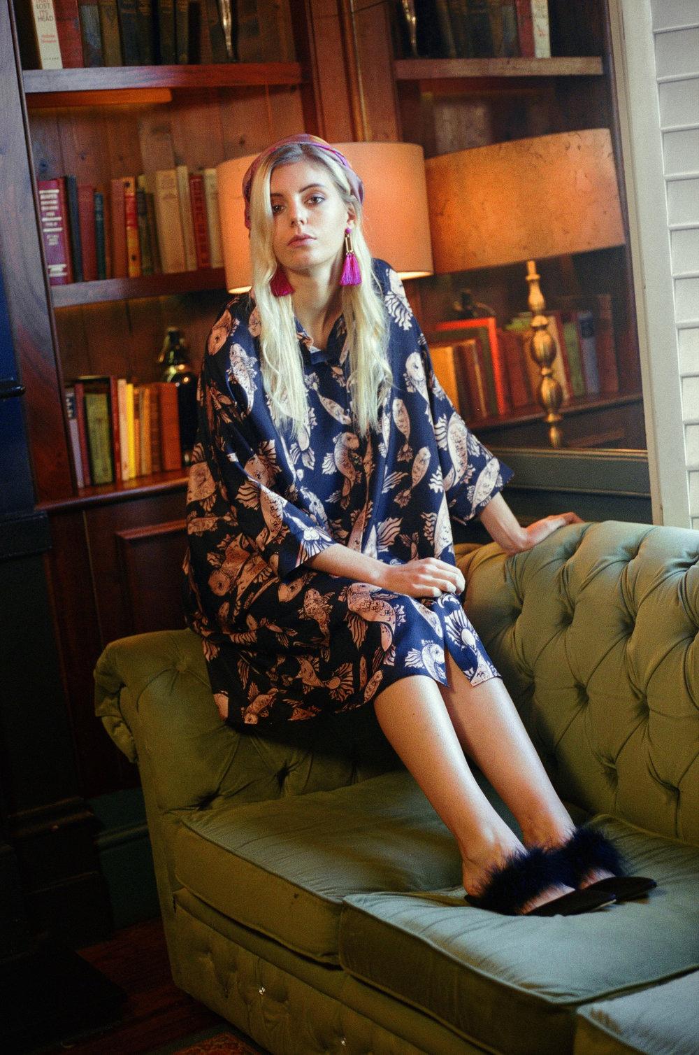 Bella Shirt Dress - Koi Carp
