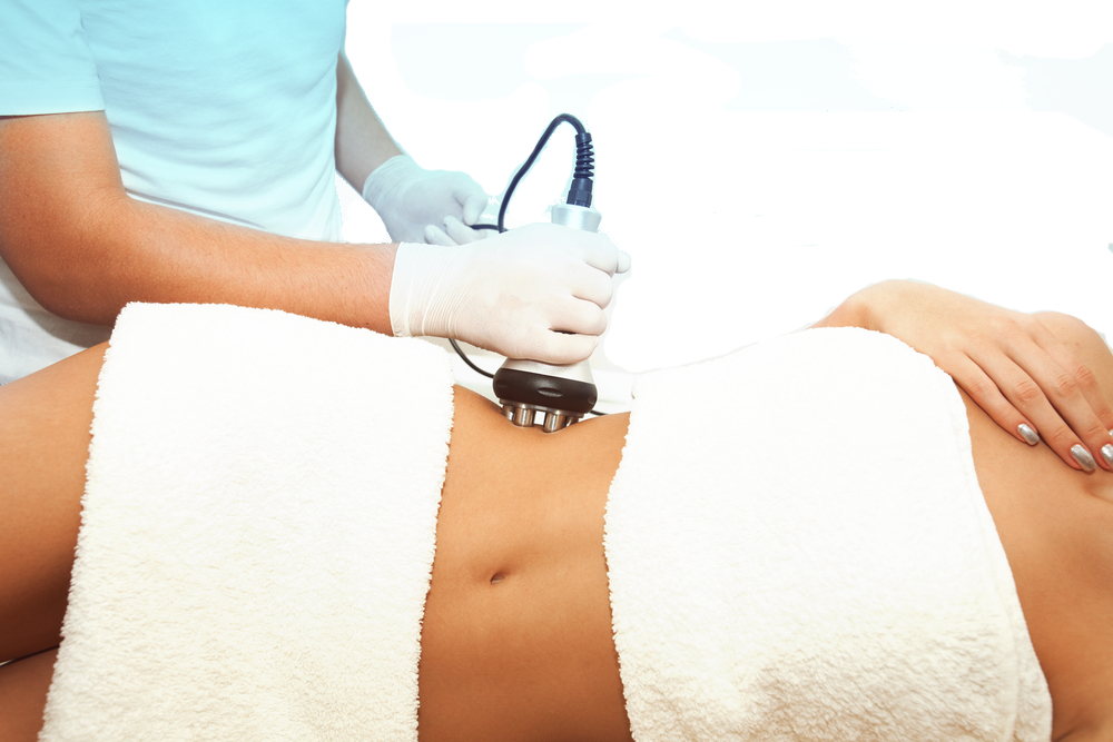 Laser Lipo (aka Ultrasonic Cavitation) - Are you looking for a way to attack those inflexible fat deposits that no matter how much you diet and exercise, never seems to disappear?Unlike a traditional tummy tuck or liposuction, in ultrasonic cavitation there are no knives, no anesthesia and no surgery. Ultrasonic cavitation is similar to Coolsculpting® or lipodissolve in that it is a treatment that removes localized fat deposits.
