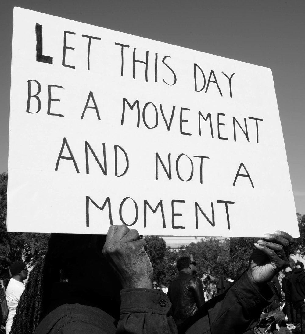 Let this Day be a Movement not a Moment | Black Power Series