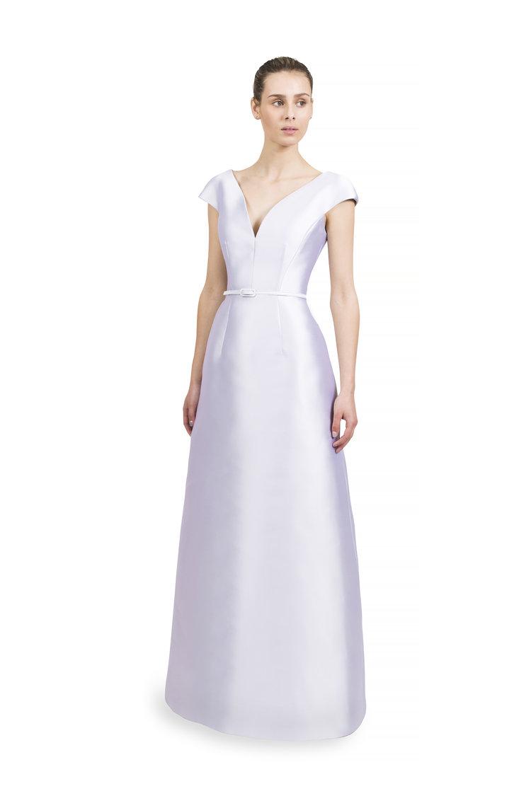 Curve Cut Dress with Tulip Skirt — Catherine Regehr