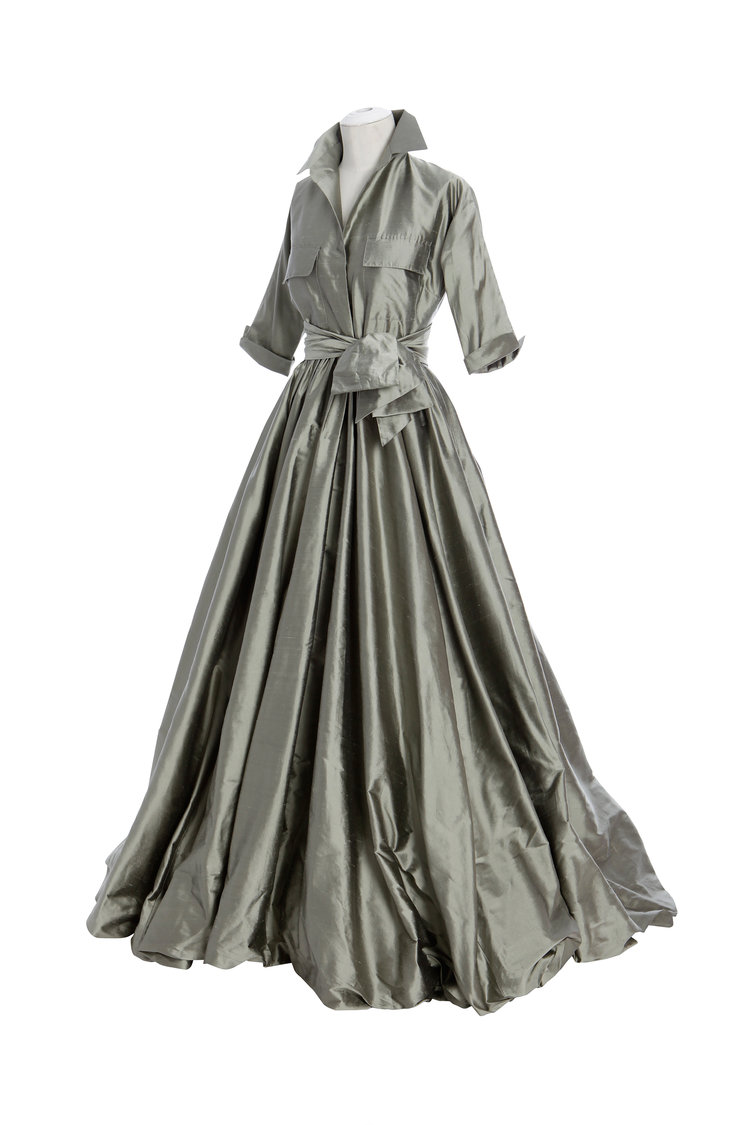 Shirt Waist Gown with Bubble Skirt — Catherine Regehr