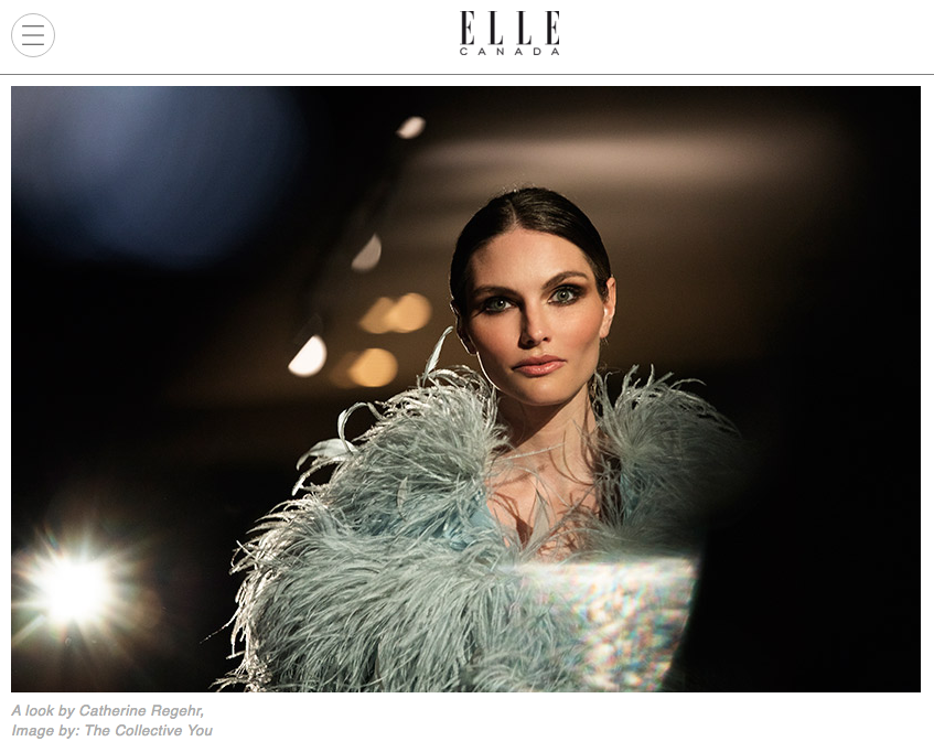 Elle CanadaDecember 2017 - Click to view article