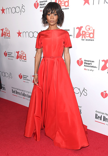 Zuri HallAmerican Heart Association Runway Show - Featuring the Vintage V-Back Gown