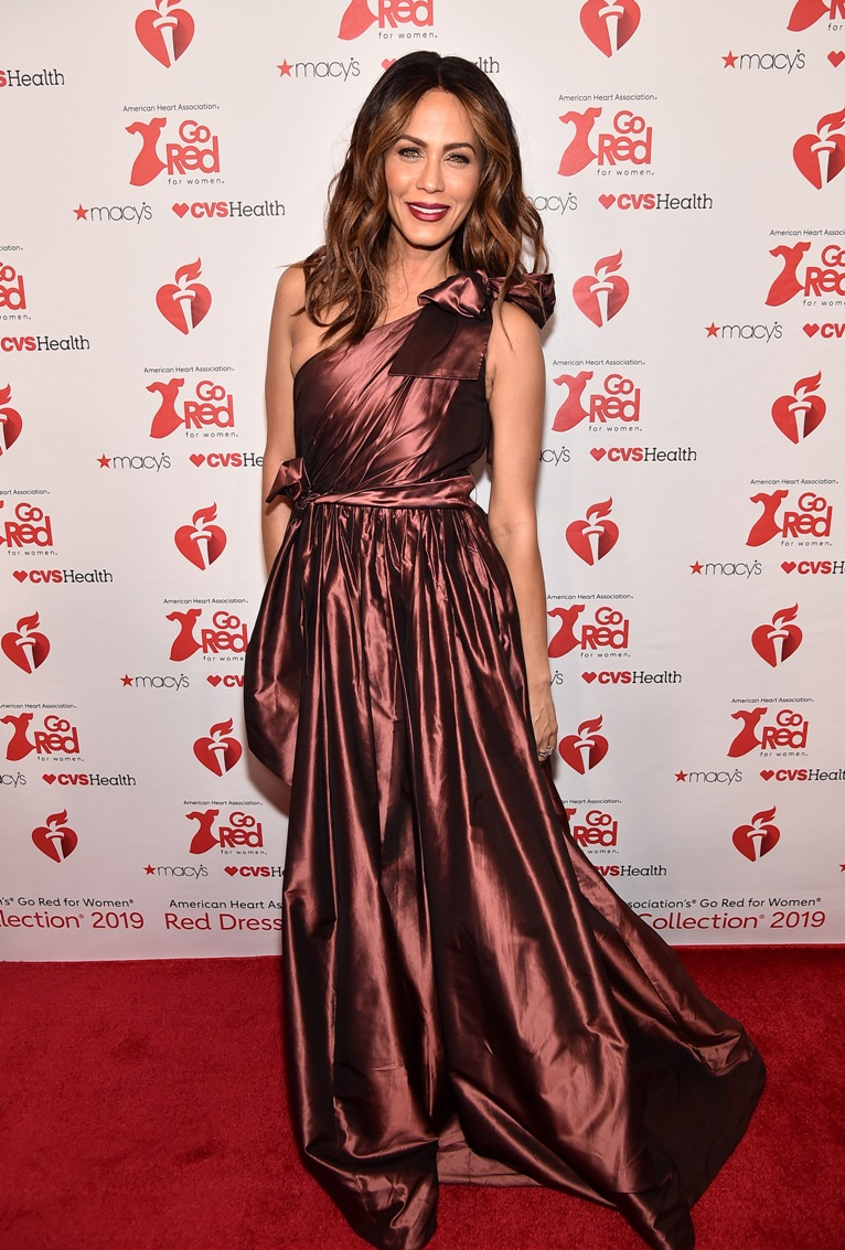 Nicole Ari Parker American Heart Association Runway Show - Featuring the Athena Gown
