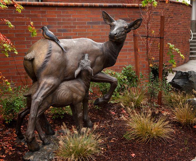 Rip Caswell Custom Bronze Sculpture Kaiser Westside