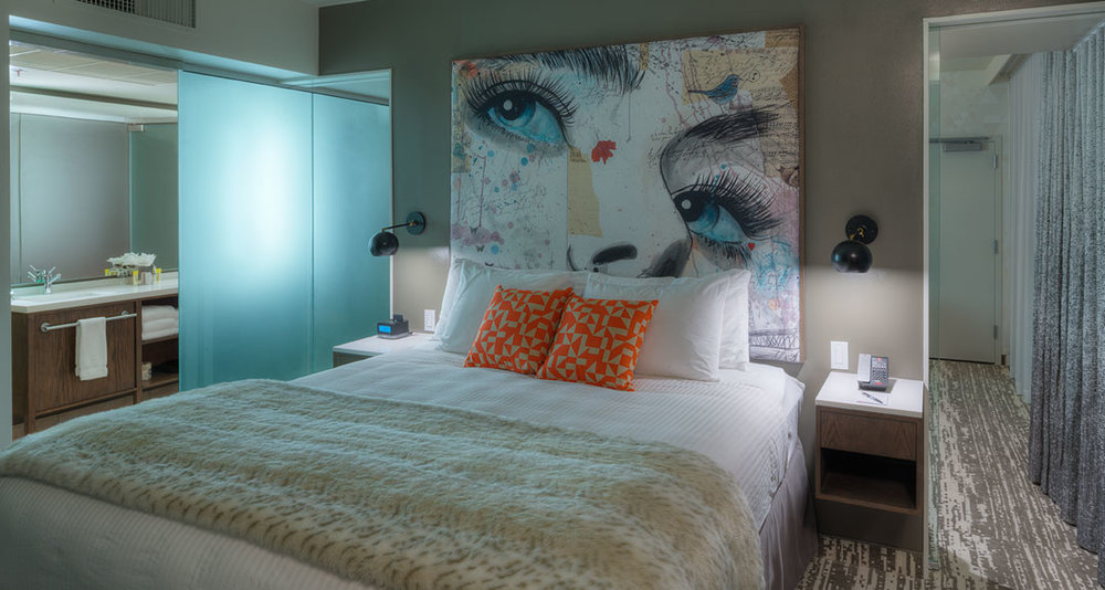 Studio Art Direct Loui Jover Bedframe Artwork