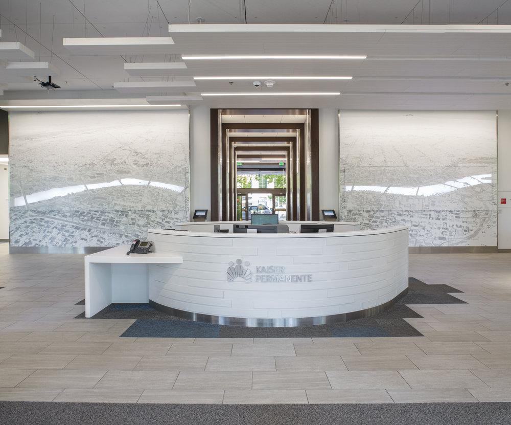 Kaiser Permanente Corporate Headquarters Lobby Artwork Studio Art Direct