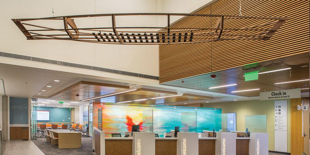 Studio Art Direct Wood Canoe Art Installation Kaiser Tanasbourne