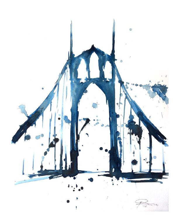 Arnold Pander Blue Saint Johns Bridge.JPG