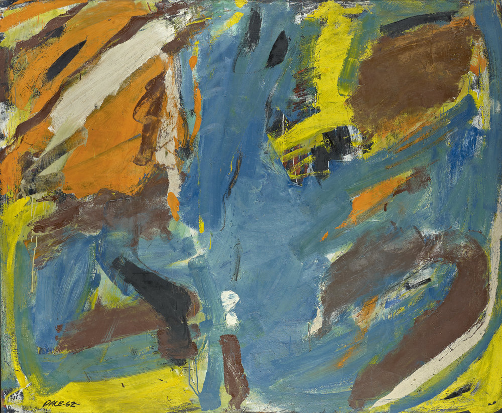 Stephen Pace,  Untitled  (62-05), 1962  Oil on Canvas, 50 x 36 in.