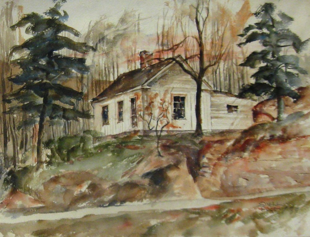 1930s - Image: Untitled, 1939Watercolor11 1/4 x 14 3/4 in.