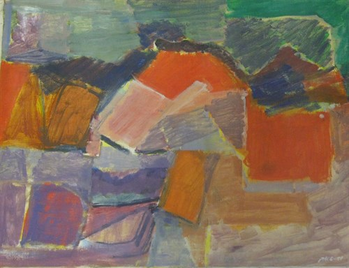 Untitled (51-42), 1951                                    Oil on Canvas 42 3/4 x 33 3/4 in.