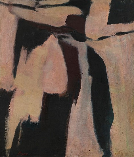 Untitled (52- 50b), 1952                                  Oil on Canvas 32 x 26 in.