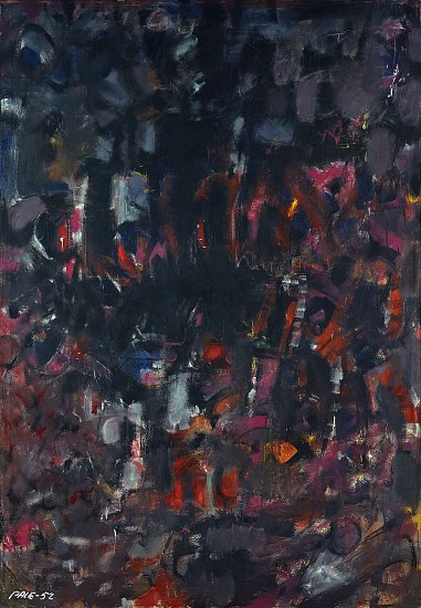 Dark Painting (52-100), 1952                          Oil on Canvas 81 1/4 x 55 1/2 x 34 in.