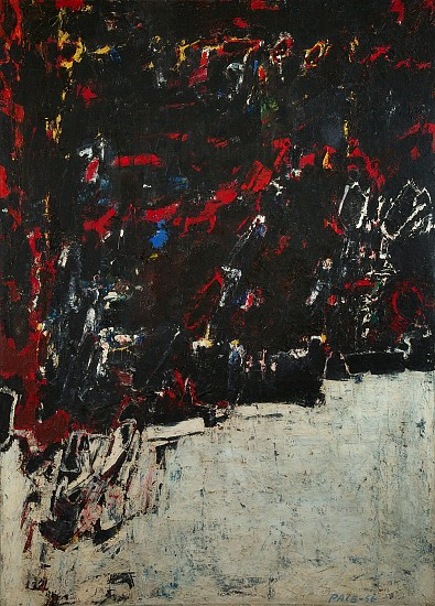 Untitled (56-20), 1956                                                  Oil on Canvas 74 x 54 in.