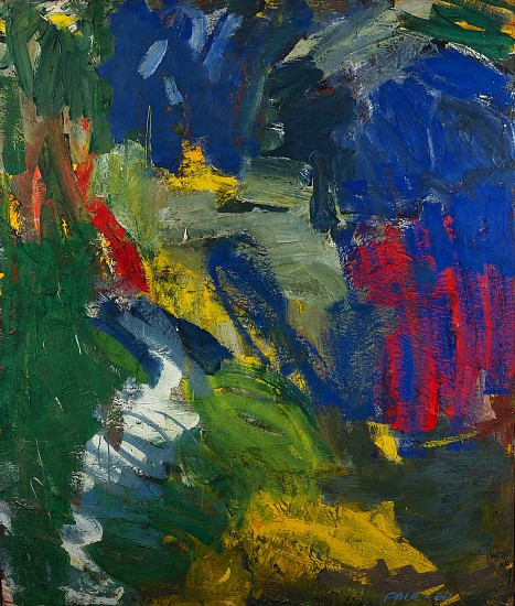 Untitled (60-A19), 1960  Oil on Canvas 60 x 50 in.