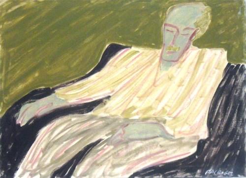 Milton Avery (65-3), 1965 Oil on Canvas  26 x 36 x 0 3/4 in.