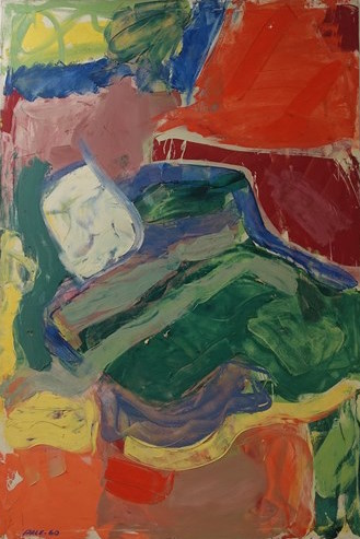 Untitled, (60-19), 1960 Oil on Canvas  72 x 48 in.