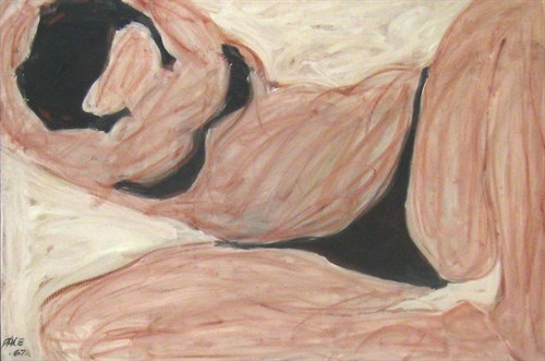 Woman in Black Bikini (67-2), 1967 Oil on Canvas  37 1/2 x 55 1/2 x 42924 in.