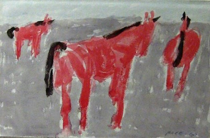 Untitled, 1967 Watercolor on Paper  15 1/2 x 22 3/4 in.