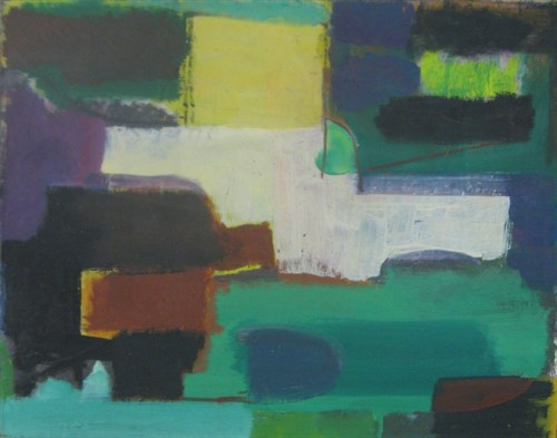 Untitled, 1948 Oil on Canvas   25 1/2 x 31 1/2 in.