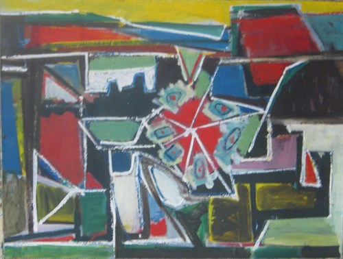 Untitled, 1949 Oil on Canvas   35 x 27 in.