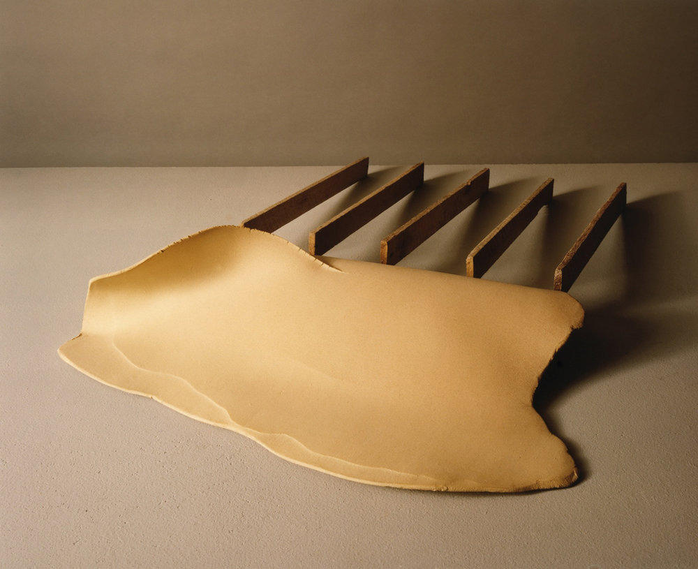 "#4, 22""x 31""x 9"" Clay and Wood, 1980"