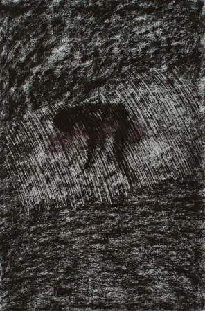 #5 , 22 x 30 inches, pastel, 1996