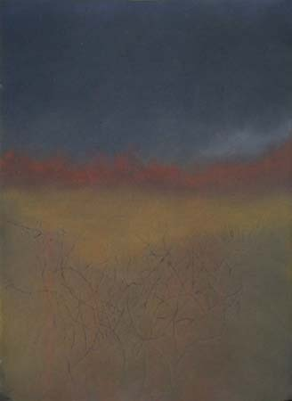 Approaching Storm , pastel on paper, 21x29 inches, 2004