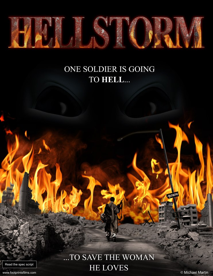 Hellstorm - At the end of the last war, to save the woman he loves, one soldier is going to Hell. When Lieutenant Tyler's wife is shot down behind enemy lines, he disobeys orders and sets out to rescue her. With the help of his tank crew, Tyler will fight an alien army of demon hellspawn through the blasted ruins of a future Earth. Hovertanks, flying aliens, and retreating soldiers battle for our world. When it looks as if the humans may lose, the countdown to planetary destruction begins. Now, Tyler must find his wife before nuclear Armageddon destroys the Earth. Sci-fi.