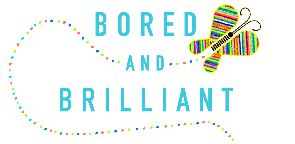 Born out of the brilliance of her weekly podcast, Manoush Zomorodi, helps us understand that it's ok to be bored. It's actually amazing!  -