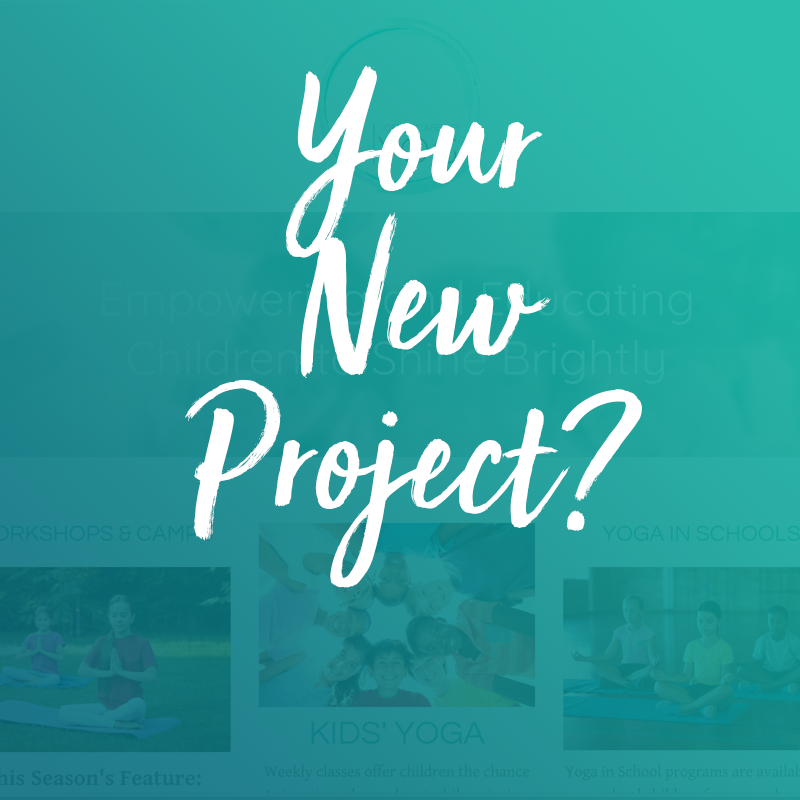Your New Project? - Click Below to start the conversation of what we can do for your business!