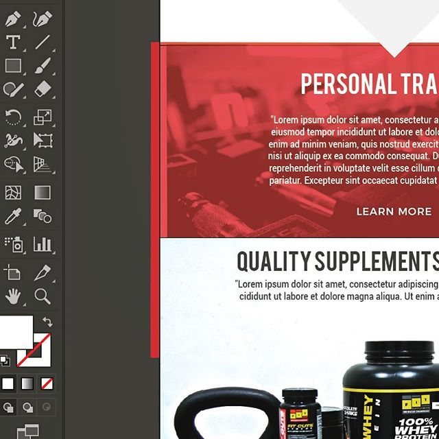 Sneak peek of what we're working on for @vanderhoofhealthandfitness - so awesome to see vision coming together!