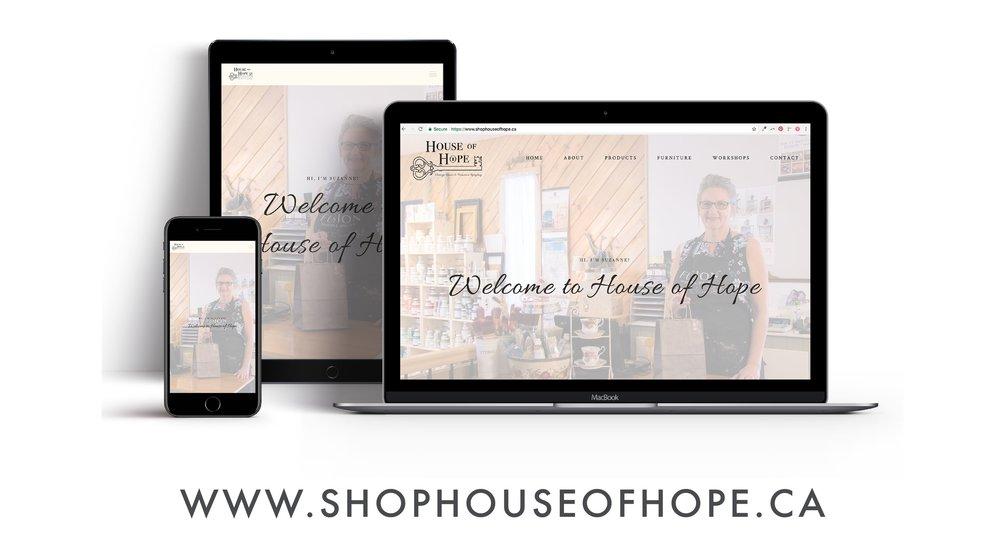 Web design, logo design, social media ads
