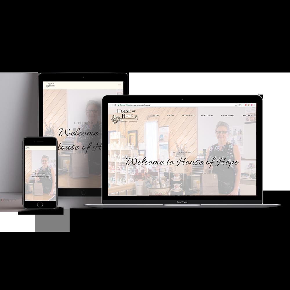 Stanley Creative Company web design in Vanderhoof BC