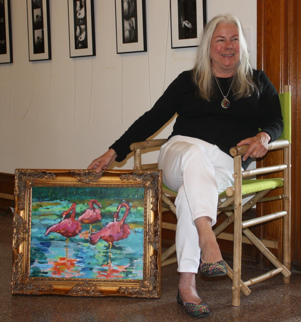 Local area artist Rebecca Andersen, uses various techniques and paints in creating magnificent masterpieces.  With an emphasis on acrylic and watercolor painting, artist Andersen brings life and vibrancy to any focal point.