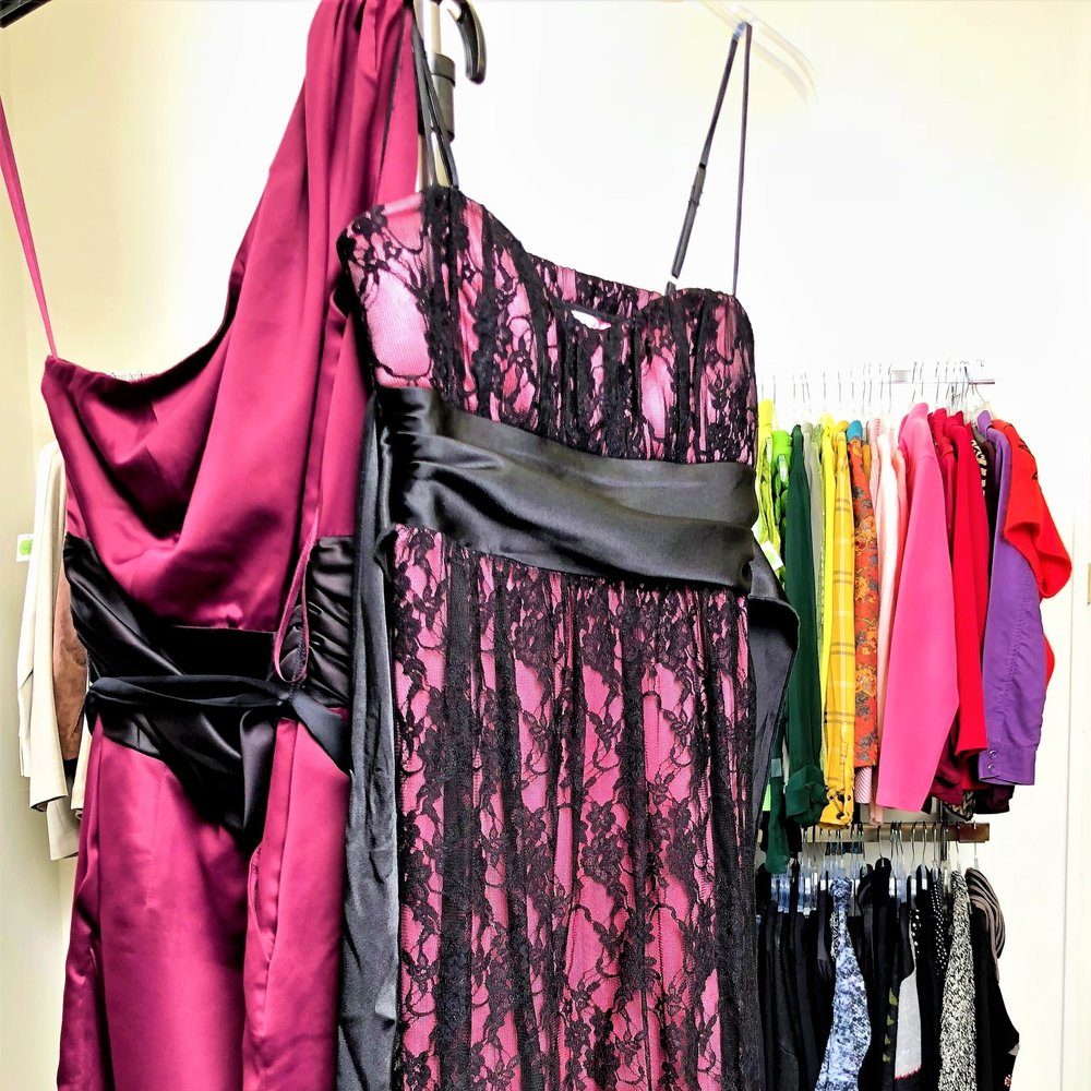 Donors can bring their new or gently used gowns to the front desk at Town Square in exchange for a tax receipt.