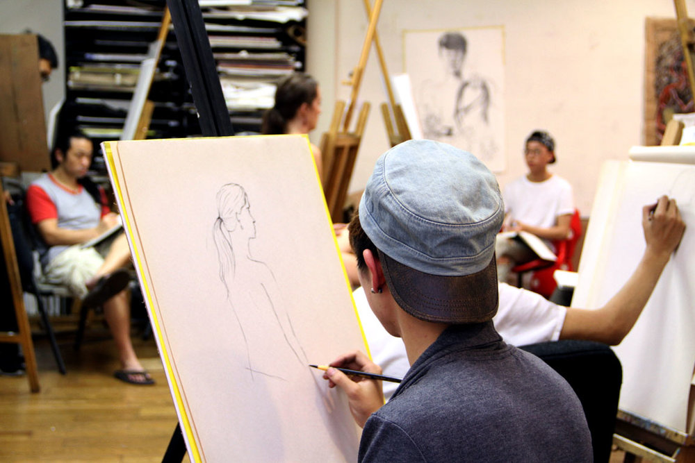 Try an open drawing class for all levels!   Figure Drawing at Town Square    Register Today