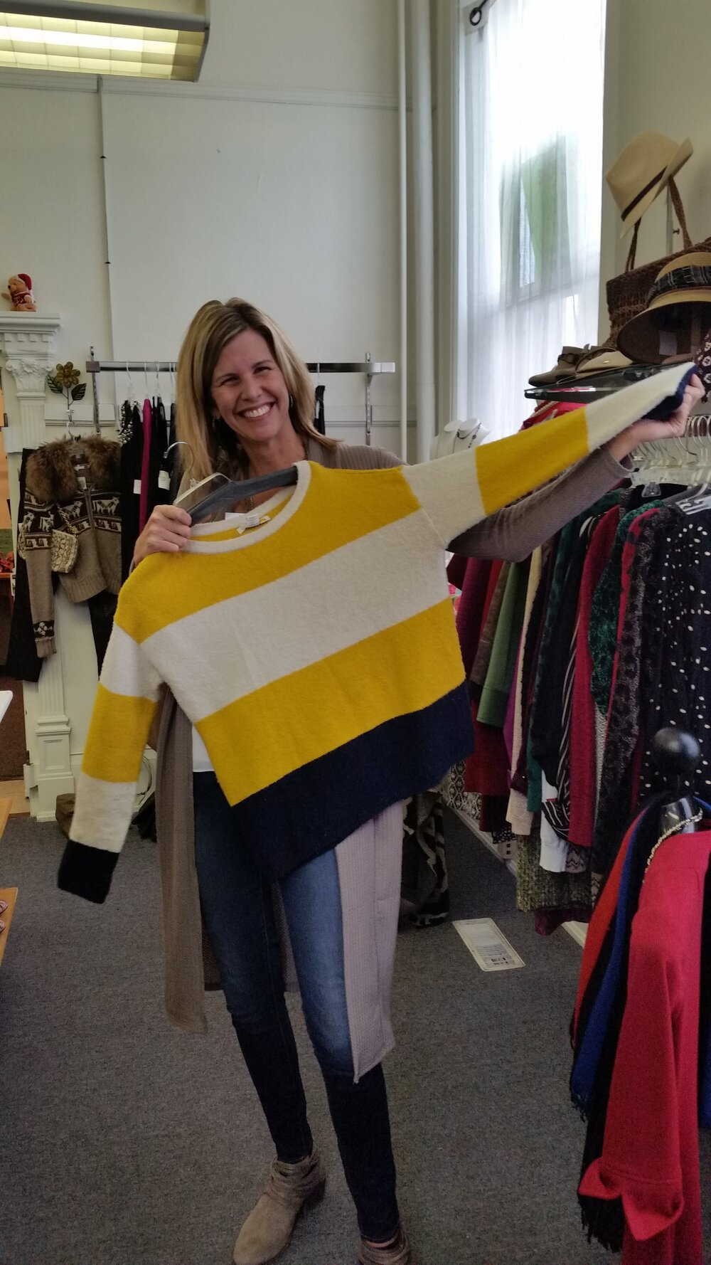 It's a win-win!   Shop at Hangers and Support Town Square    Learn More