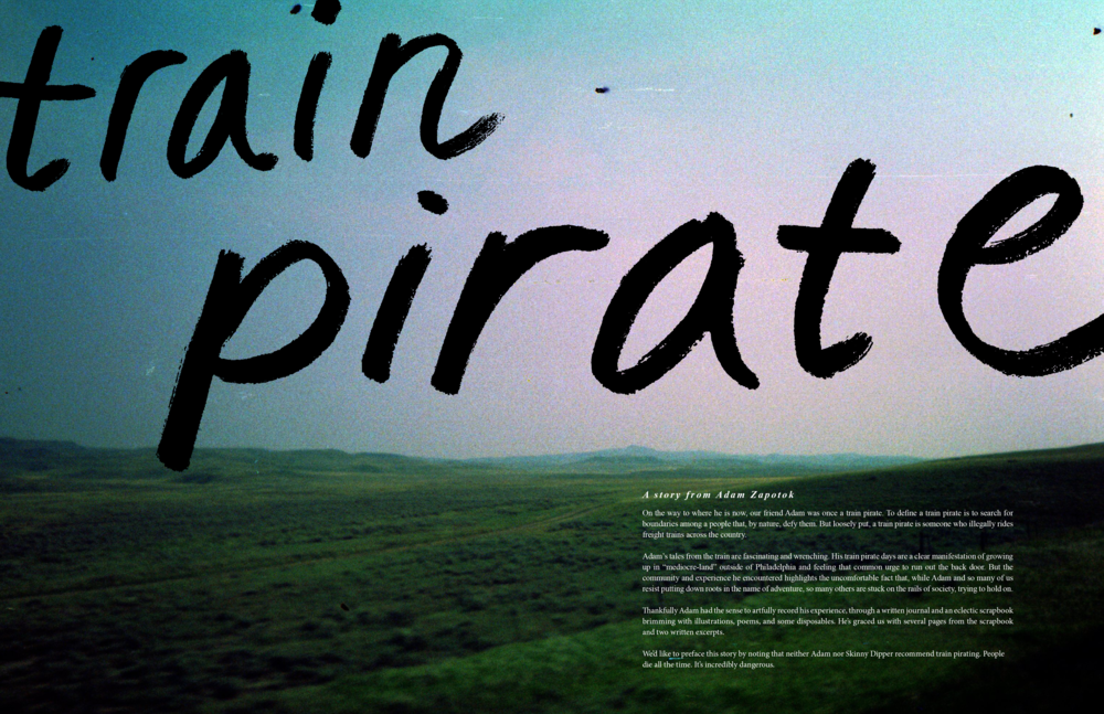 Train Pirate - story cover page