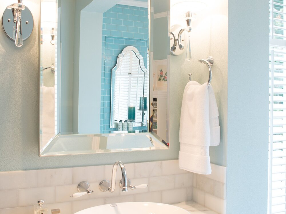 Sherwood Master Bathroom Remodel — Lord Interior Design