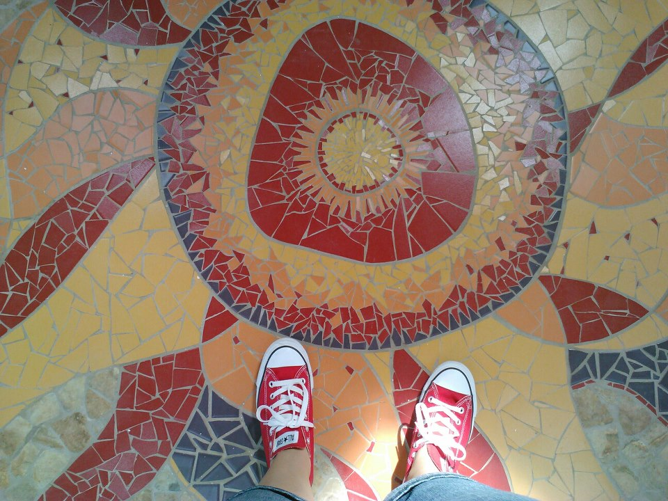 Tile Sun in Hospice of Dayton