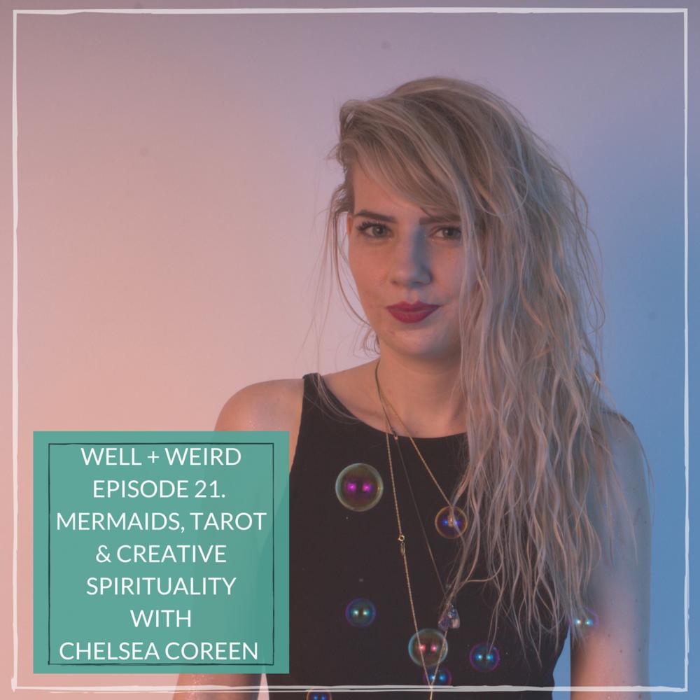 chelsea coreen mercury mermaid ask a mermaid podcast