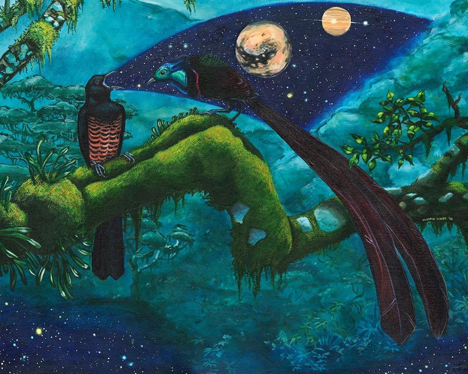 Forest Tale by Ingrid Nuss