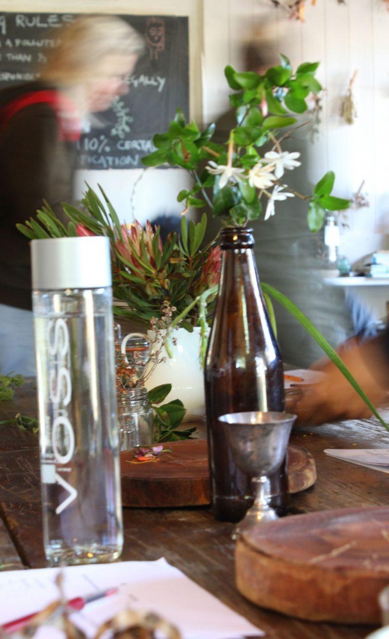A fragrant table