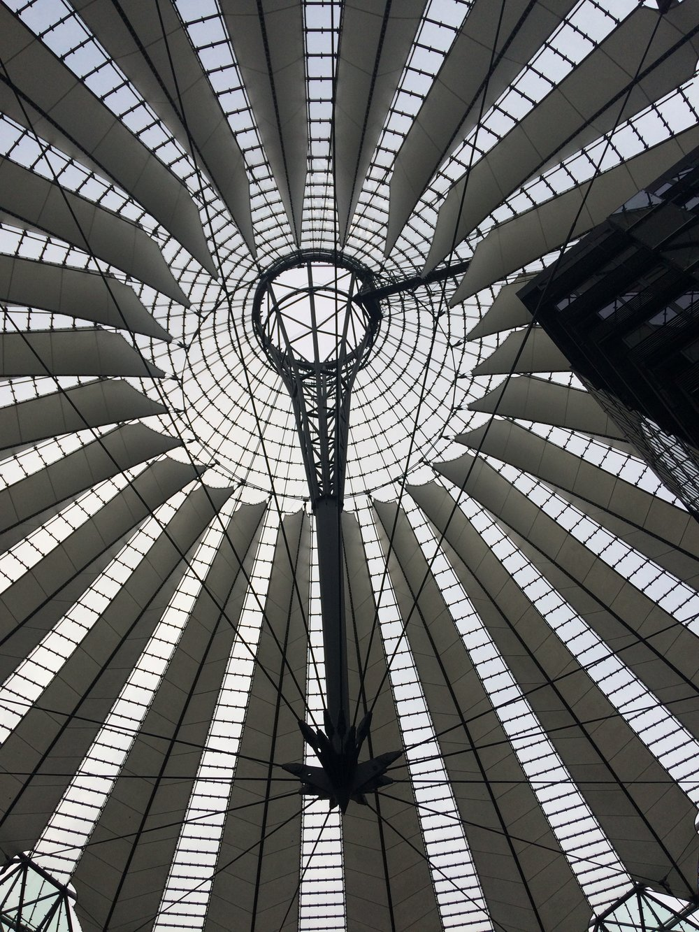 Sony Centre in Potsdamer Platz