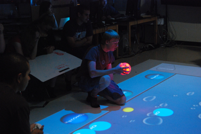 SMALLab games in the classroom
