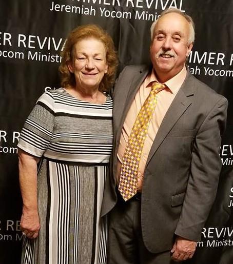 Senior Pastors Gary & Veronica Yocom