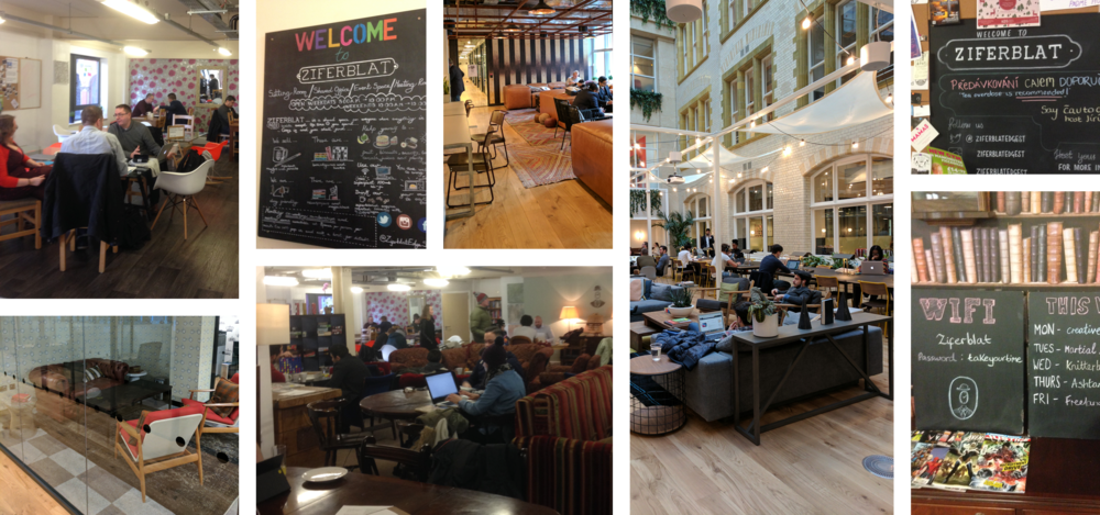 Snooping around Manchester and London co-working spaces for inspiration